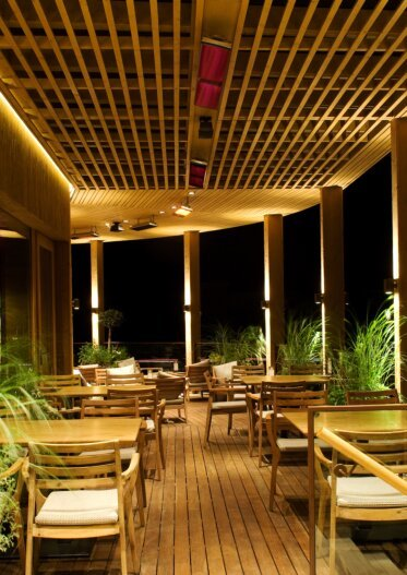 Vision - Kopie Restaurant - Infrared Radiant Heaters