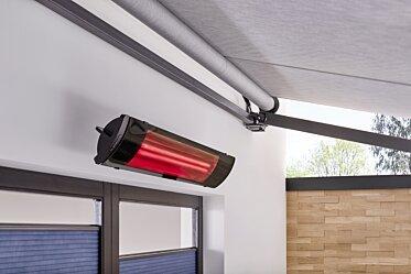 Modern Garden Design - Infrared Radiant Heaters