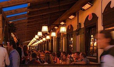 Spot 2800W Hotels & Restaurant - In-Situ Image by Heatscope Heaters