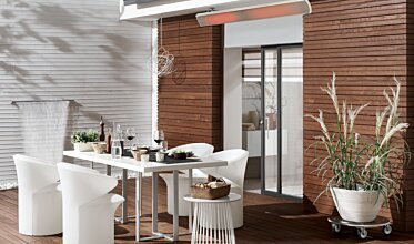 Private Residence - Infrared Radiant Heaters