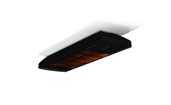 Spot 1600W Collection - Black / Black - Flame On by Heatscope Heaters