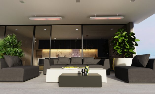 Residental - Vision 3200W Radiant Heater by Heatscope Heaters