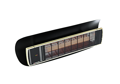 Weathershield 3 Black Accessorie - Studio Image by Heatscope