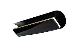 Weathershield 5 Black Accessorie - Studio Image by Heatscope
